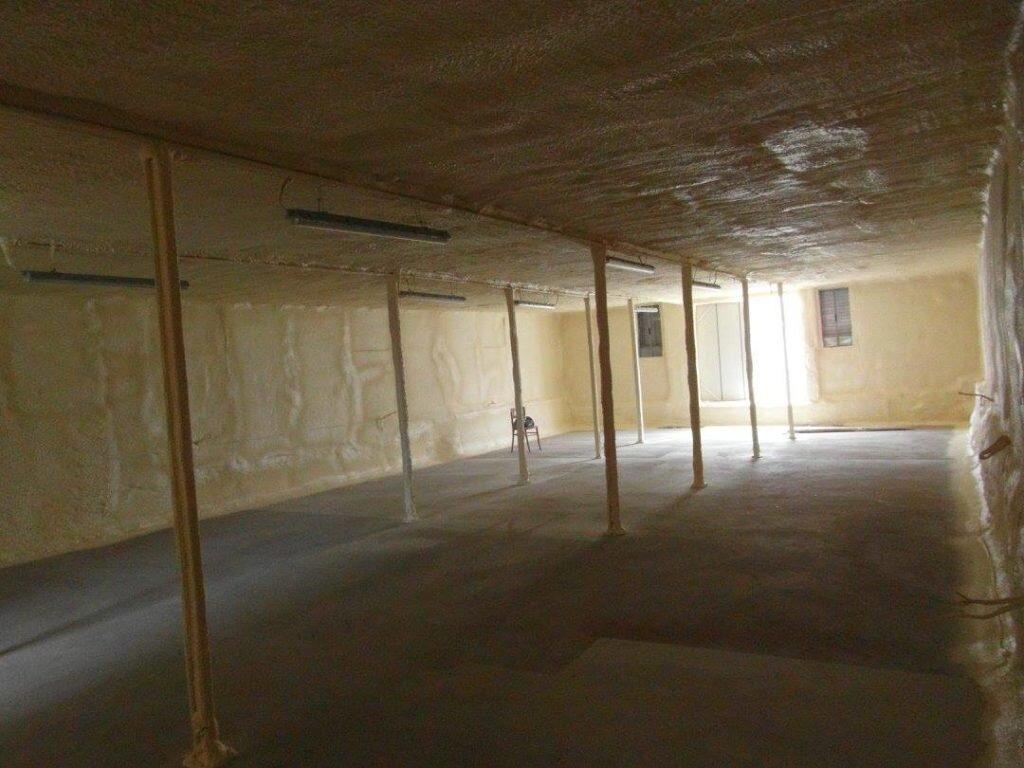 izolacja ścian pianą pur
